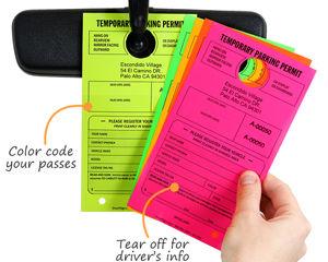 Guest Parking Color Code Passes