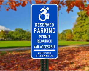 Connecticut Parking Signs, Fire Lane Signs and Other Regulated Signs