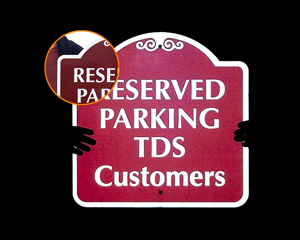Quotation for Reflective Parking Signs