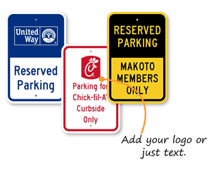 Custom Split Signs