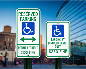 Delaware Parking Signs, Fire Lane Signs and Other Regulated Signs