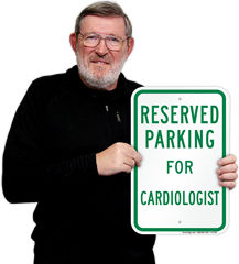 Doctor Parking Signs by Specialization