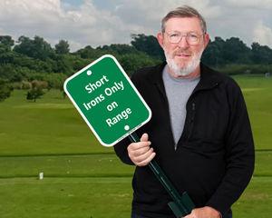 Driving Range Signs
