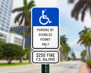 Florida Parking Signs, Fire Lane Signs and Other Regulated Signs