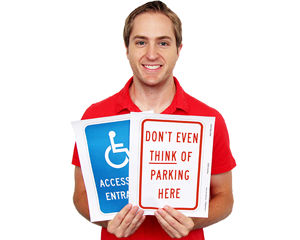 Free Parking Signs