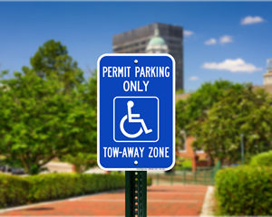 Georgia Parking Signs, Fire Lane Signs and Other Regulated Signs