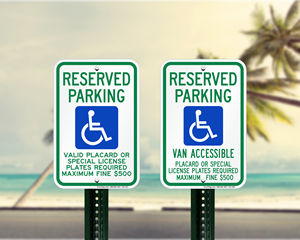 Hawaii Parking Signs, Fire Lane Signs and Other Regulated Signs