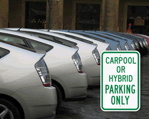 Hybrid Parking Signs