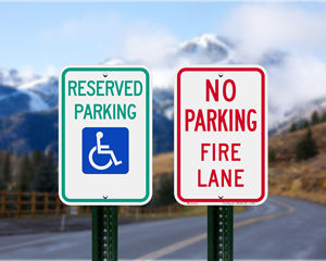 Idaho Parking Signs, Fire Lane Signs and Other Regulated Signs
