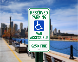 Illinois Parking Signs, Fire Lane Signs and Other Regulated Signs