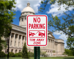 Kentucky Parking Signs, Fire Lane Signs and Other Regulated Signs