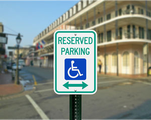 Louisiana Parking Signs, Fire Lane Signs and Other Regulated Signs