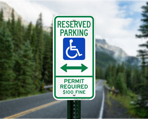 Montana Parking Signs, Fire Lane Signs and Other Regulated Signs