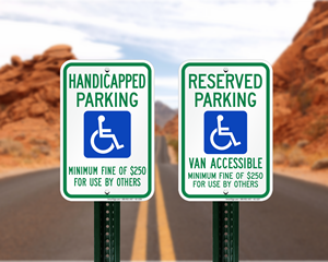 Nevada Parking Signs, Fire Lane Signs and Other Regulated Signs