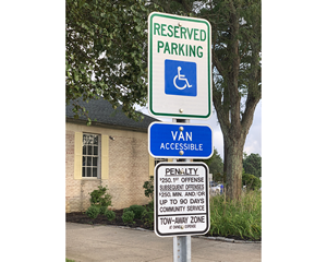New Jersey Parking Signs