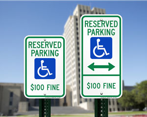 North Dakota Parking Signs