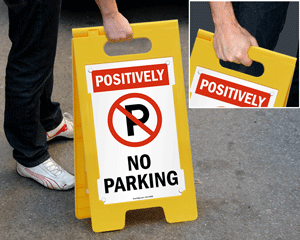 Portable Parking Stands
