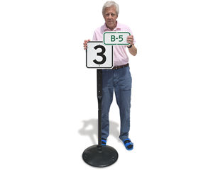 Parking Space Number Signs