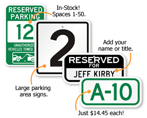 Parking space signs spiritdancerdesigns Image collections