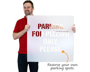 Reserve your own parking spots