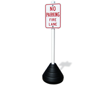 Rubber Sign Base