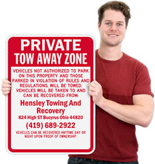 State by State Tow Away