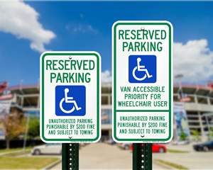 Tennessee Parking Signs