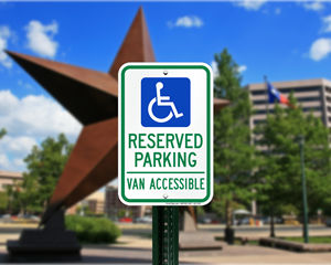 Texas Parking Signs