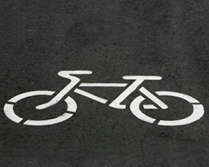 Traffic Bike Stencils