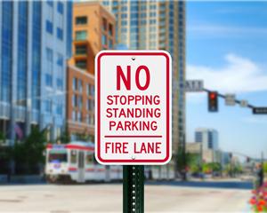Utah Parking Signs