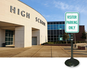 Visitor Sign & Post Kit