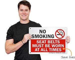 Wear seat belt sign