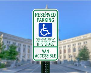 Wisconsin ADA Parking Signs