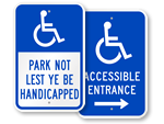 ADA Accessible Entrance Signs