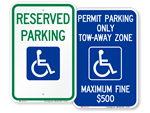 Looking for ADA Parking Signs?
