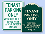 Additional Tenant Parking Signs