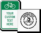 Custom Bicycle Signs