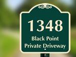 Custom Driveway Signs