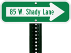 Custom Direction Signs