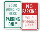 Looking for Custom Parking Signs?