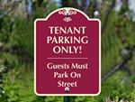 Custom Street Parking Signs