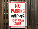 Customer Favorite Tow Signs