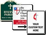 Customizable Church Signs