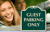 HOA Guest Parking Signs