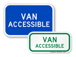 Looking for Van Accessible Signs?