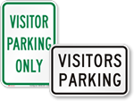 Looking for Visitor Parking Signs?