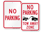 Looking for No Parking Signs?
