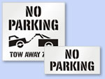 Looking for No Parking Stencils?