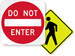 Looking for Parking Lot Traffic Signs?