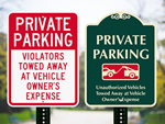 Looking for Private Parking Signs?
